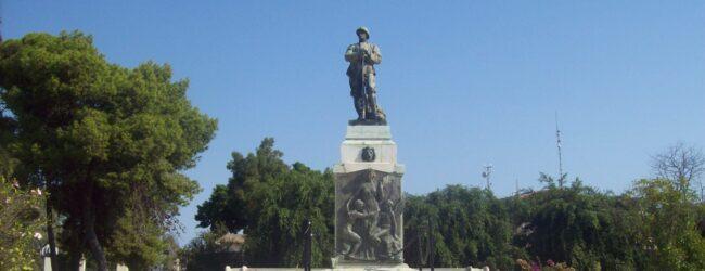 Augusta | Il Milite Ignoto cittadino onorario del Comune megarese