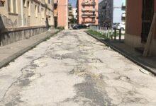 Augusta | Manutenzione stradale nella zona delle palazzine ex Ina Casa e in via Copernico